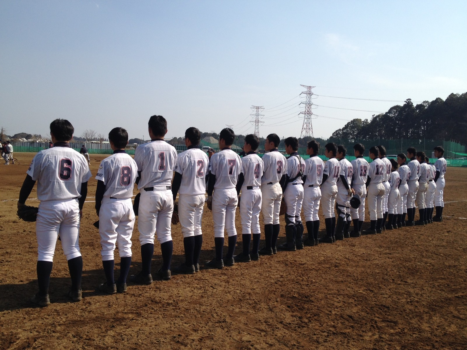 2014.03.16 東関東支部春季大会 敗者復活2回戦 香取リトルシニア戦