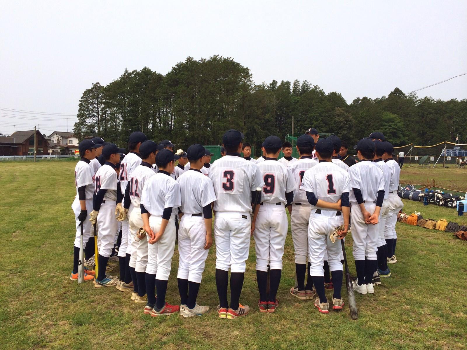 2014.05.25 関東連盟夏季大会 1回戦 足利リトルシニア戦