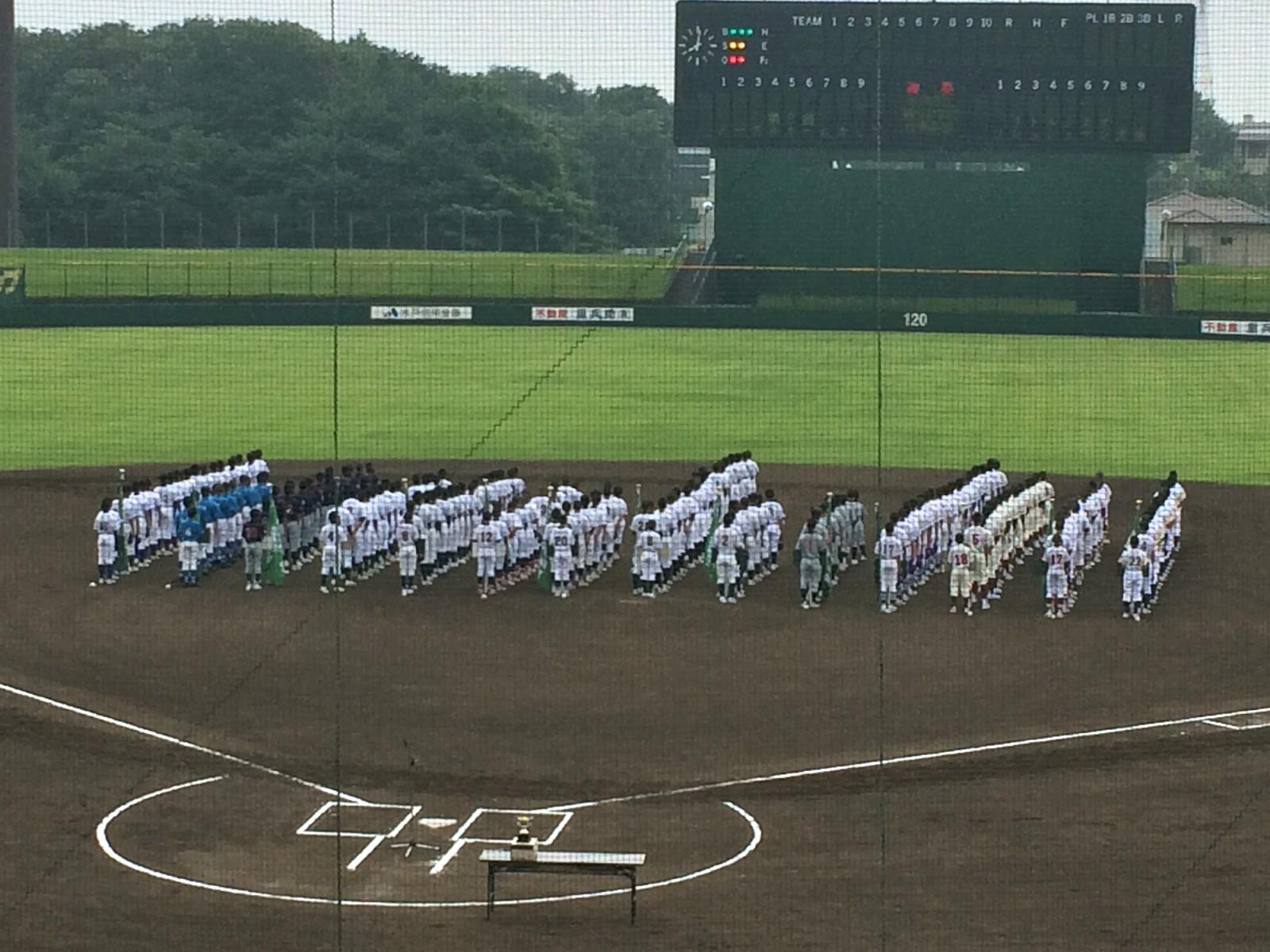 2014.06.21 第8回ノーブルホームカップリトルシニアフレッシュマン大会 開会式
