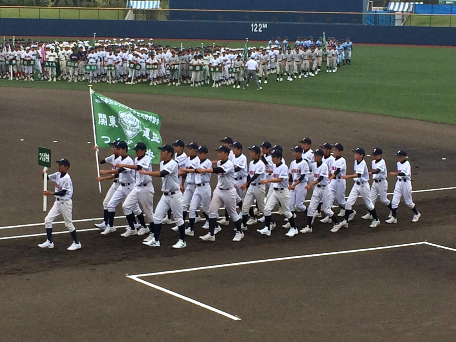 2014.08.17 2014メイコウカップ東関東支部秋季大会 開会式 行進