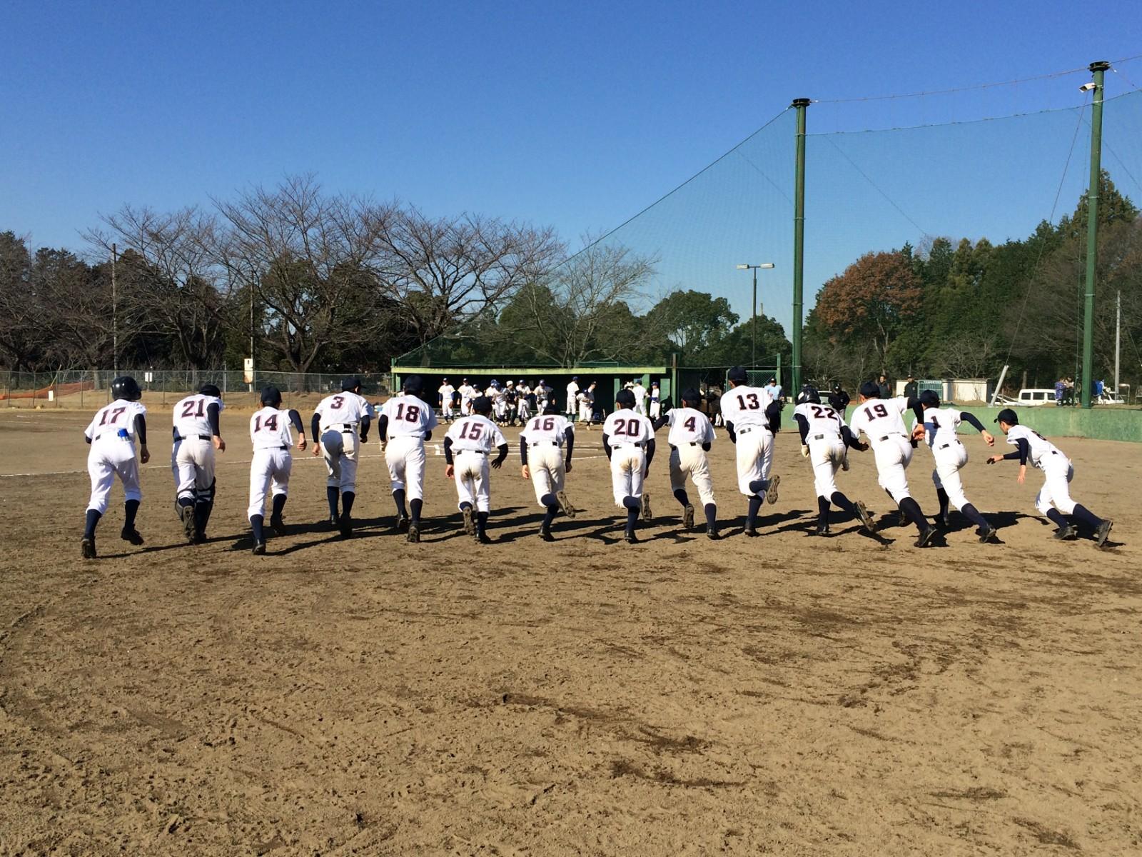 2014.12.13 第2回水戸ヤクルトカップ 1回戦 取手リトルシニア戦