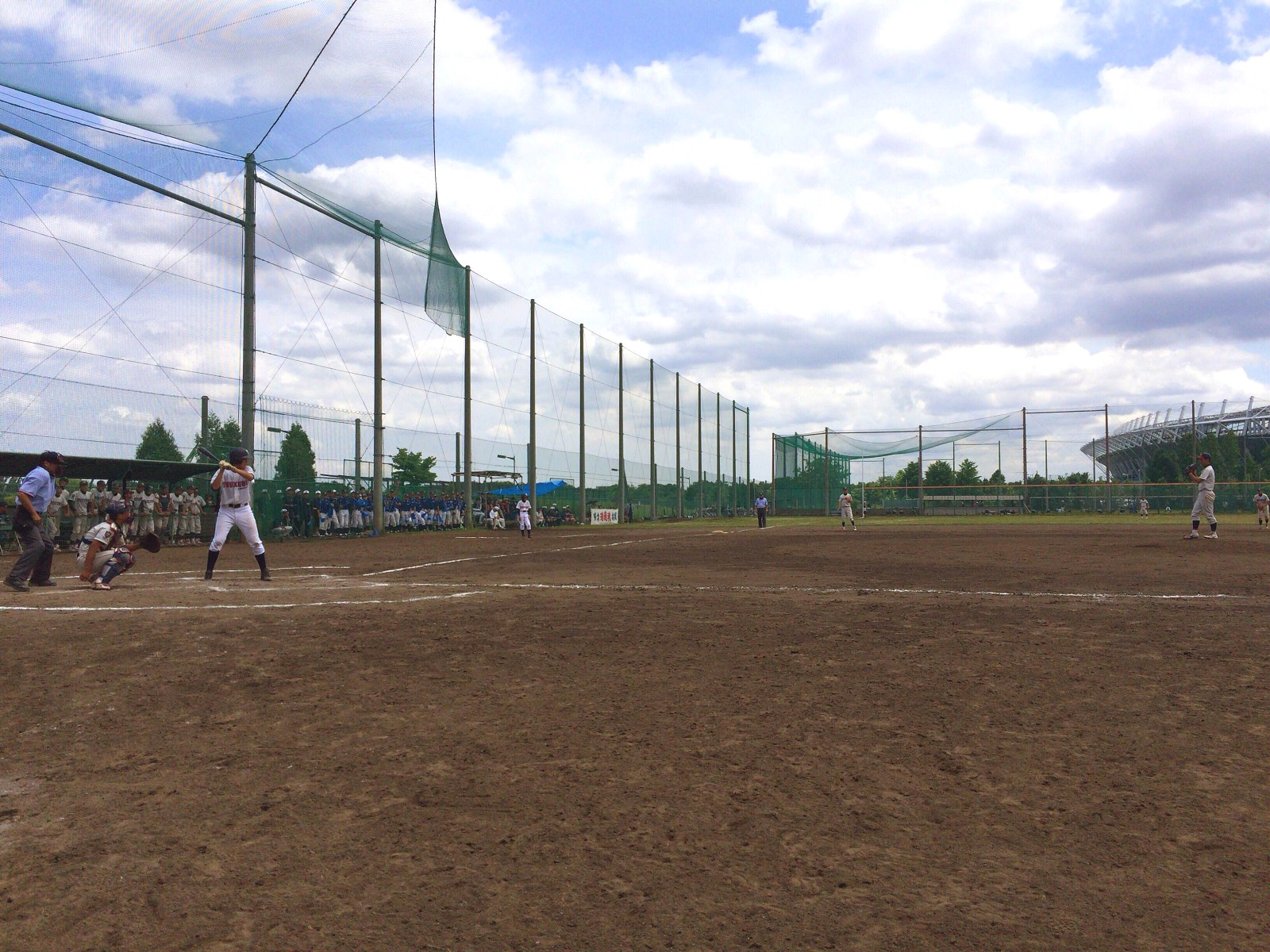 2015メイコウカップ関東連盟夏季大会 3回戦 瑞穂リトルシニア戦