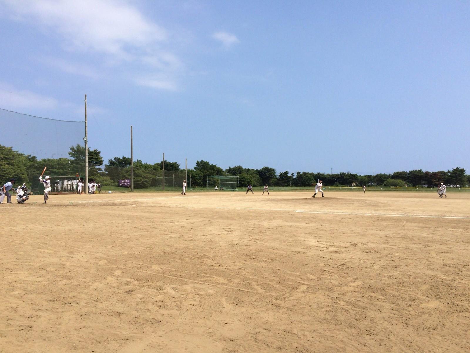 メイコウカップ東関東支部秋季大会 茨城ブロック桜川大会 水戸リトルシニア戦