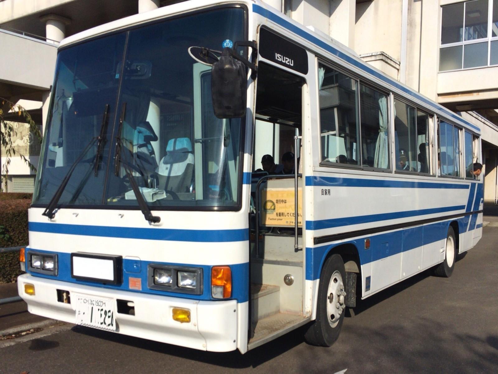 チーム専用バス