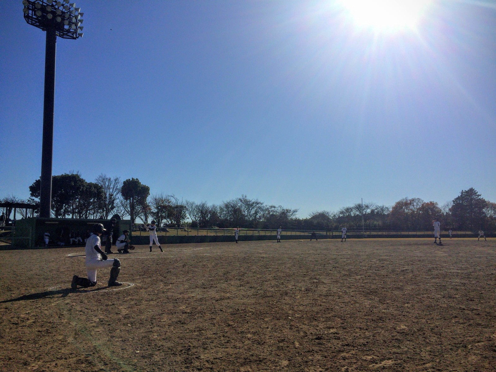 2015.12.05 第3回水戸ヤクルトカップ大会 1回戦 川崎中央リトルシニア戦