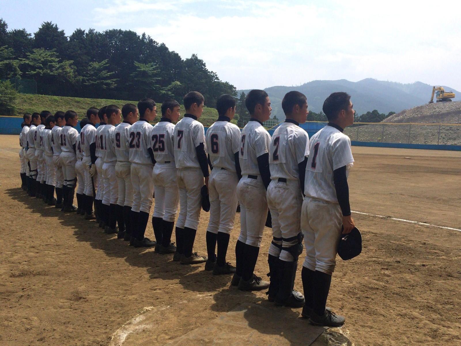 2016.05.29 2016 MEIKO CUP 関東連盟夏季大会 2回戦 浜松南リトルシニア戦 整列