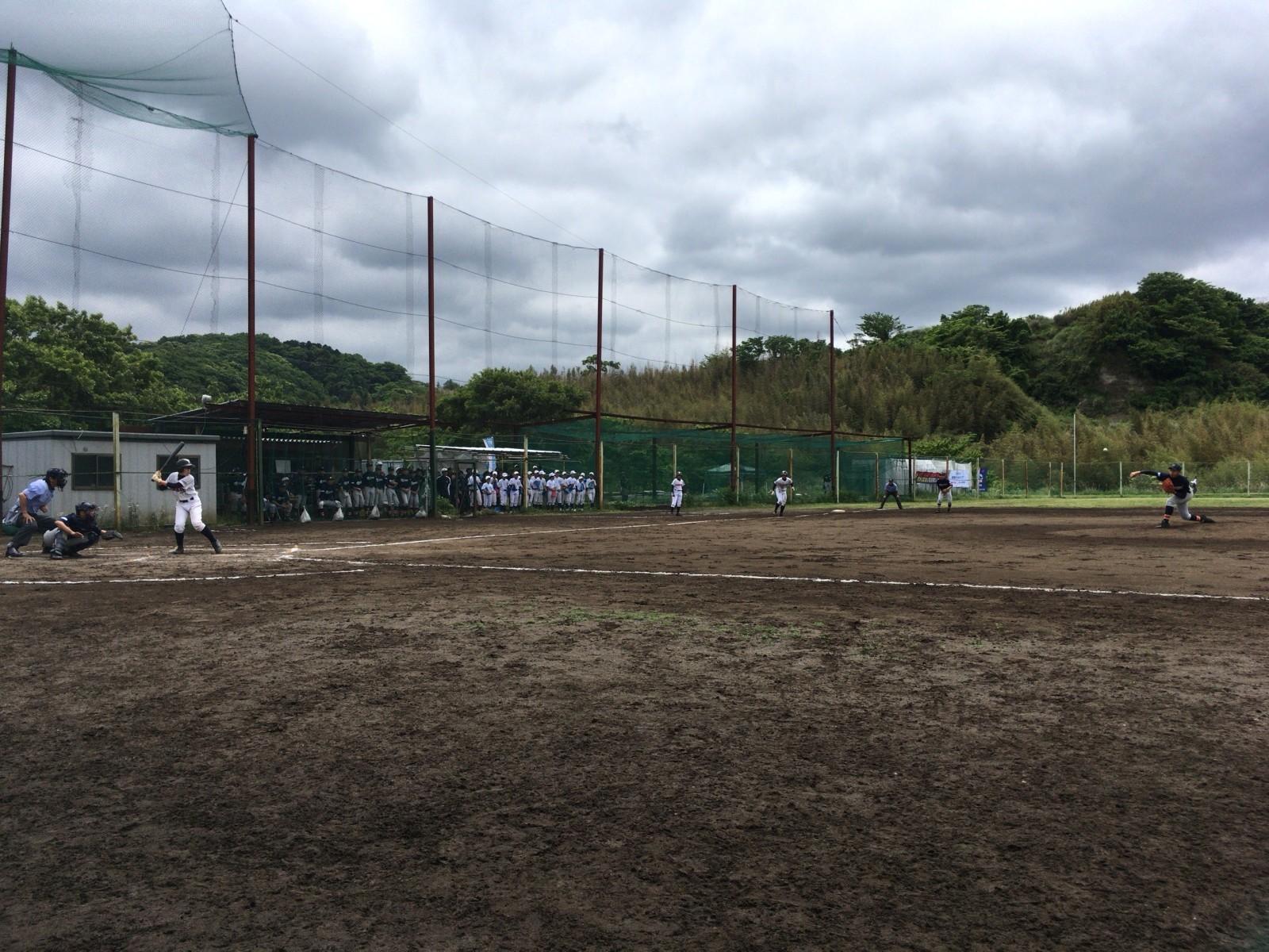2017.05.14 2017関東連盟夏季大会 1回戦 横浜南リトルシニア戦