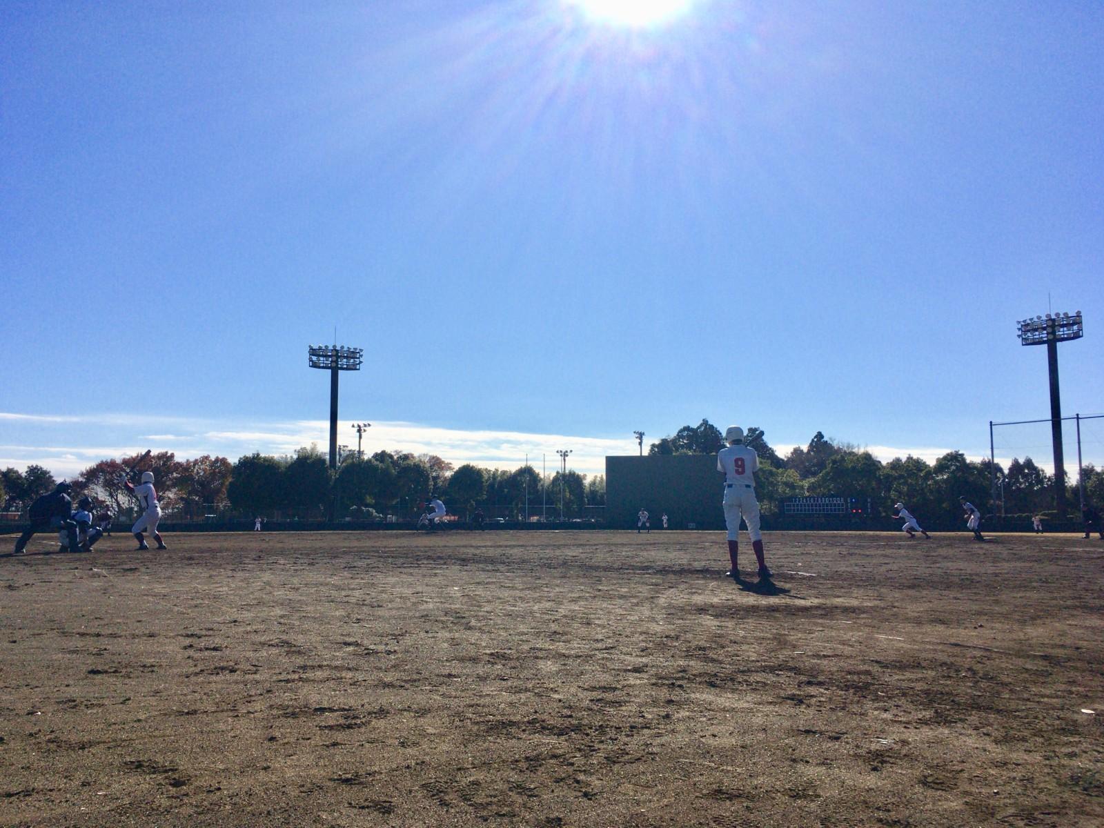 2017.12.02 第5回水戸ヤクルトカップ大会 1回戦 水戸東リトルシニア戦