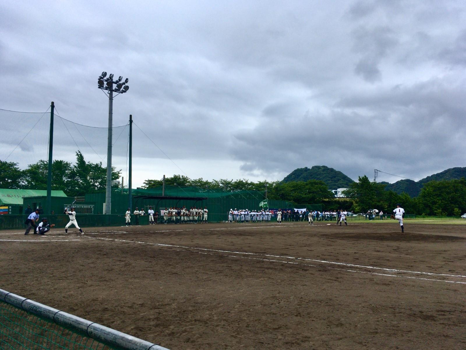 2018.05.13 2018関東連盟夏季大会 1回戦 三島リトルシニア戦