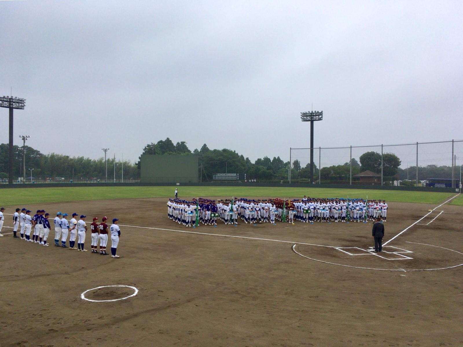 2018.06.23 第12回ノーブルホーム旗杯リトルシニアフレッシュマン大会 開会式