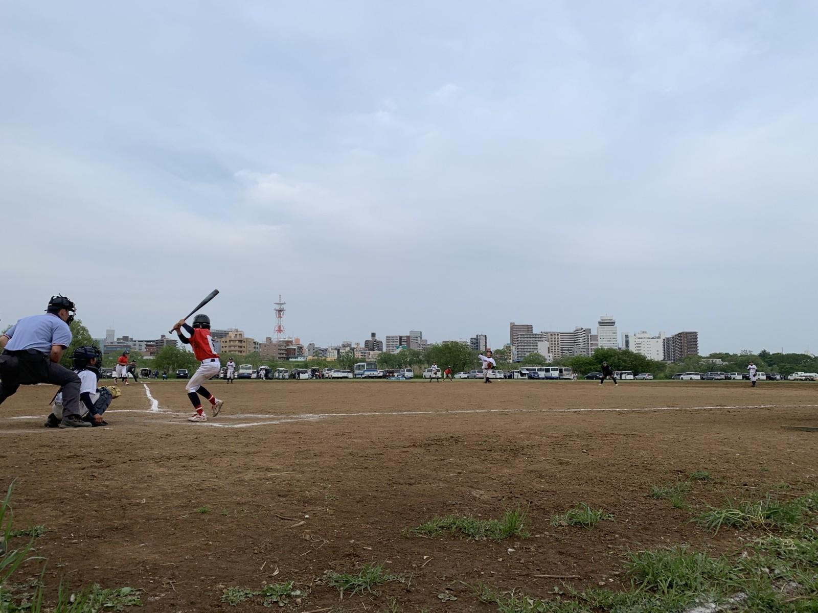 2019.05.03 2019年葛飾シニアルーキーズカップ オープン戦 江戸川北リトルシニア戦