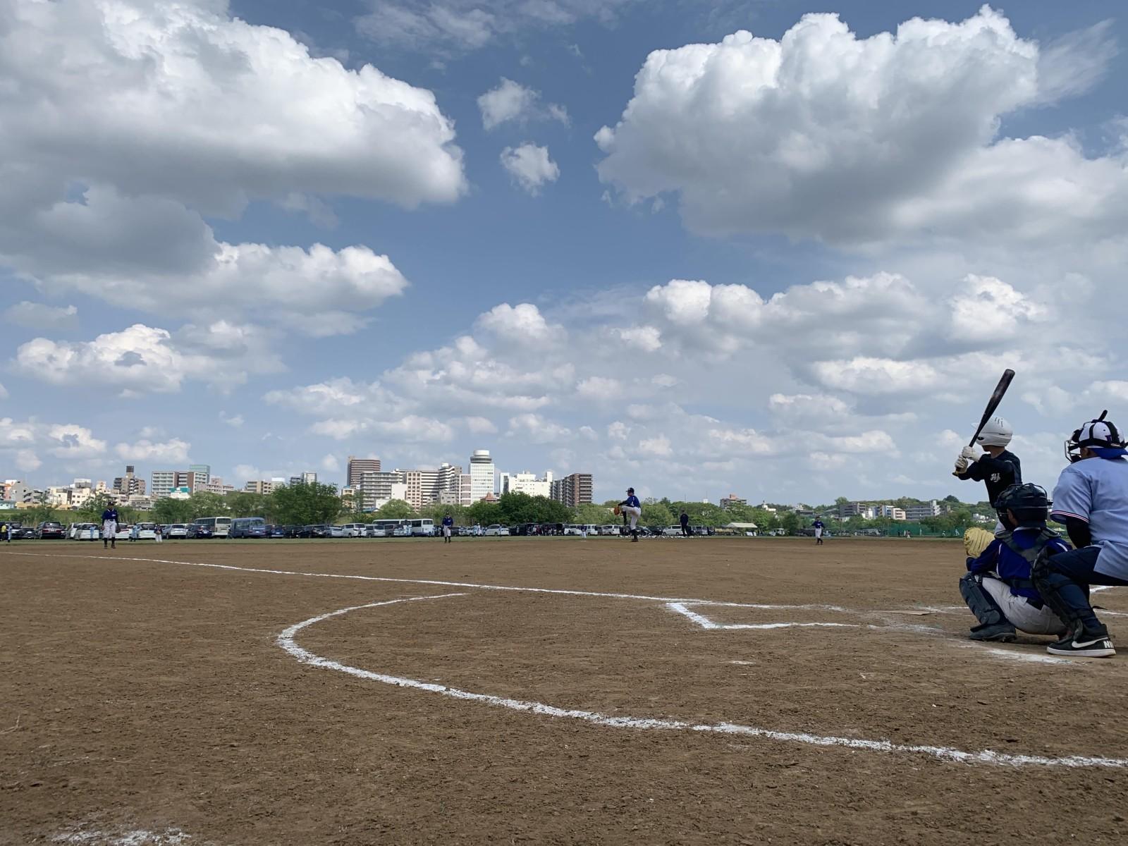 2019.05.04 2019年葛飾シニアルーキーズカップ オープン戦 八王子リトルシニアA戦