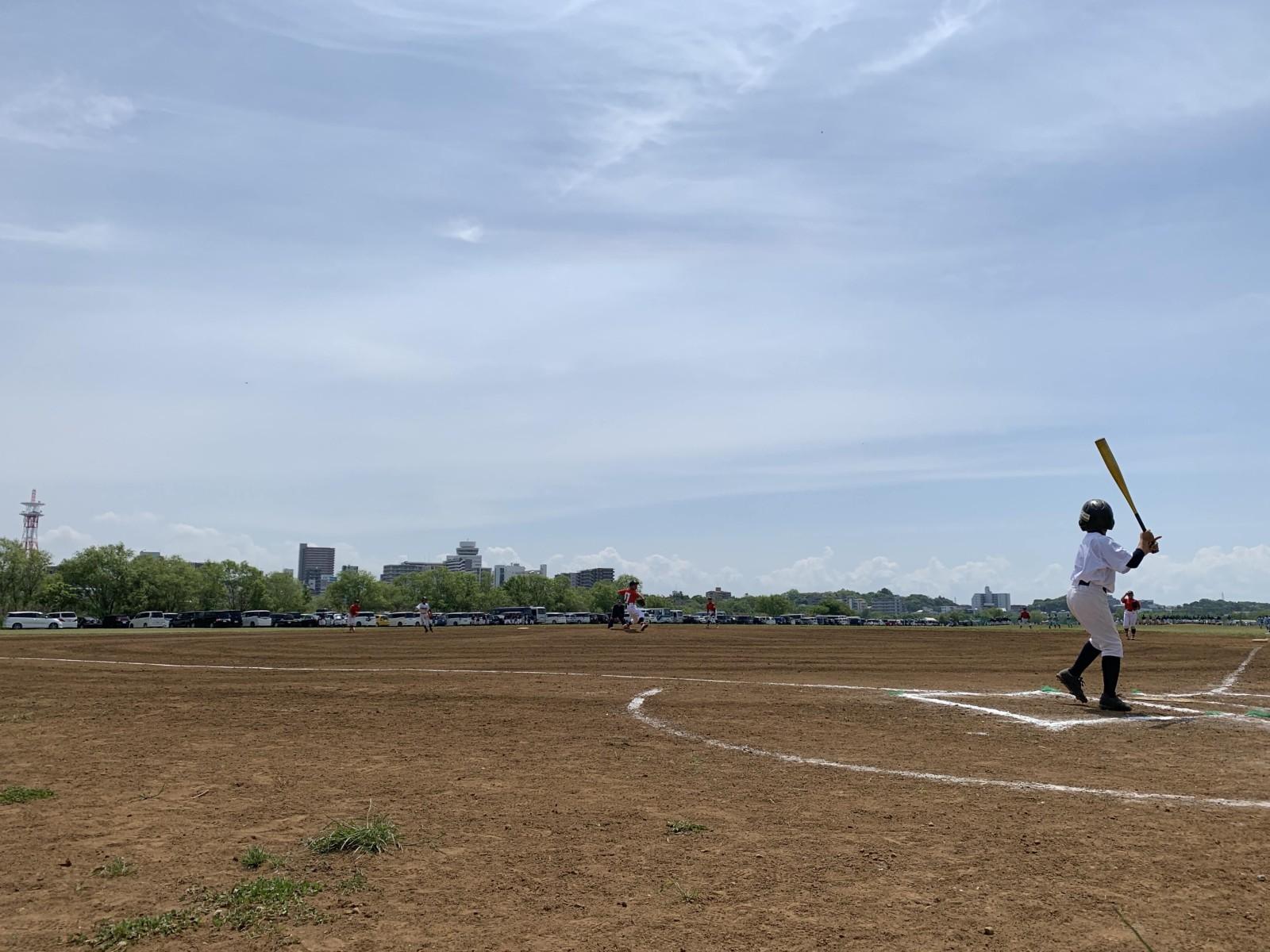 2019.05.05 2019年葛飾シニアルーキーズカップ オープン戦 江戸川北リトルシニア戦