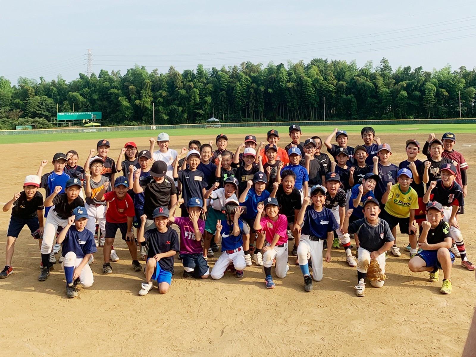 2019.07.30 夏休み野球教室交流試合2019 05