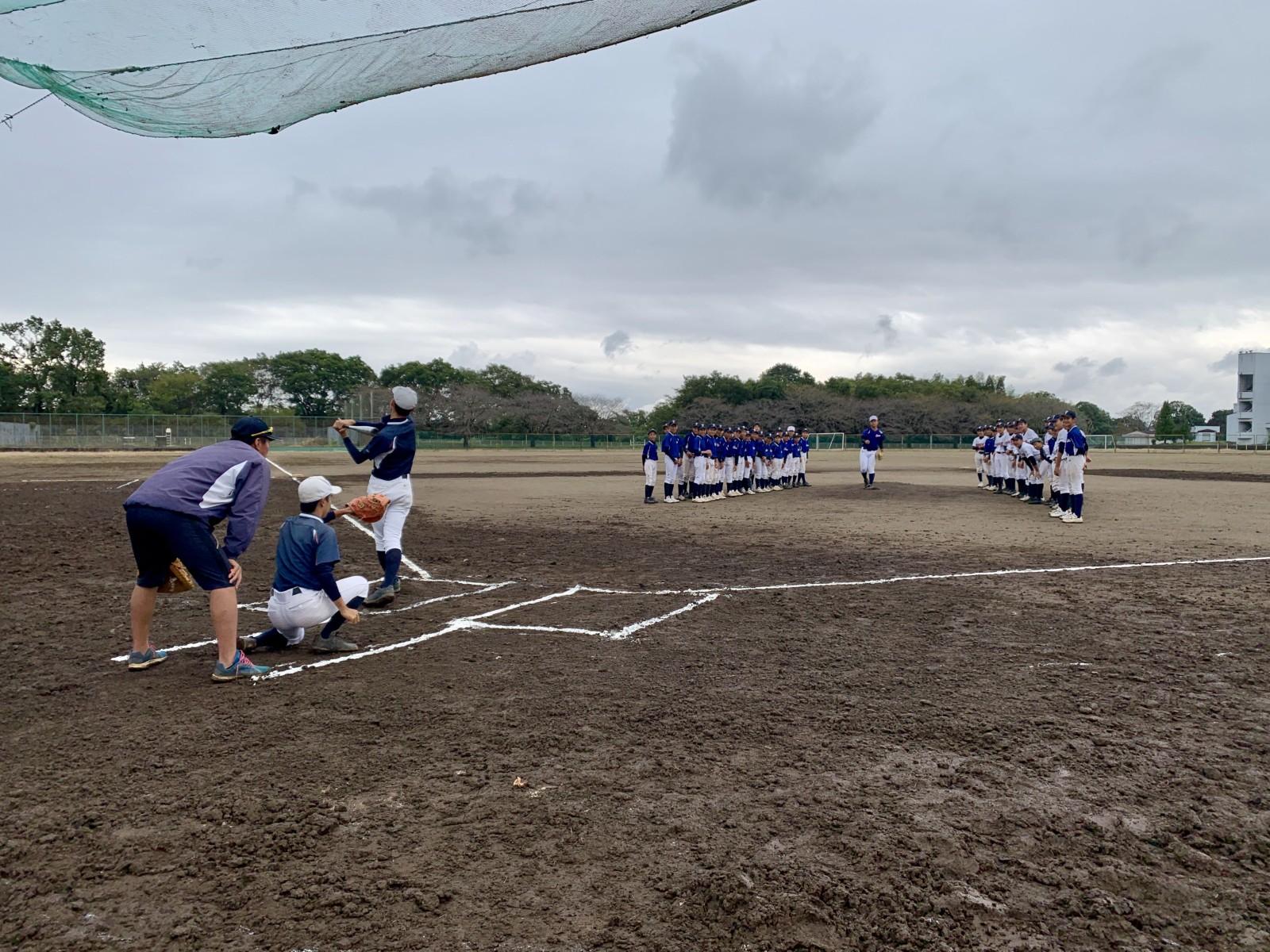 2019.10.06 育成リーグ戦2019秋 始球式