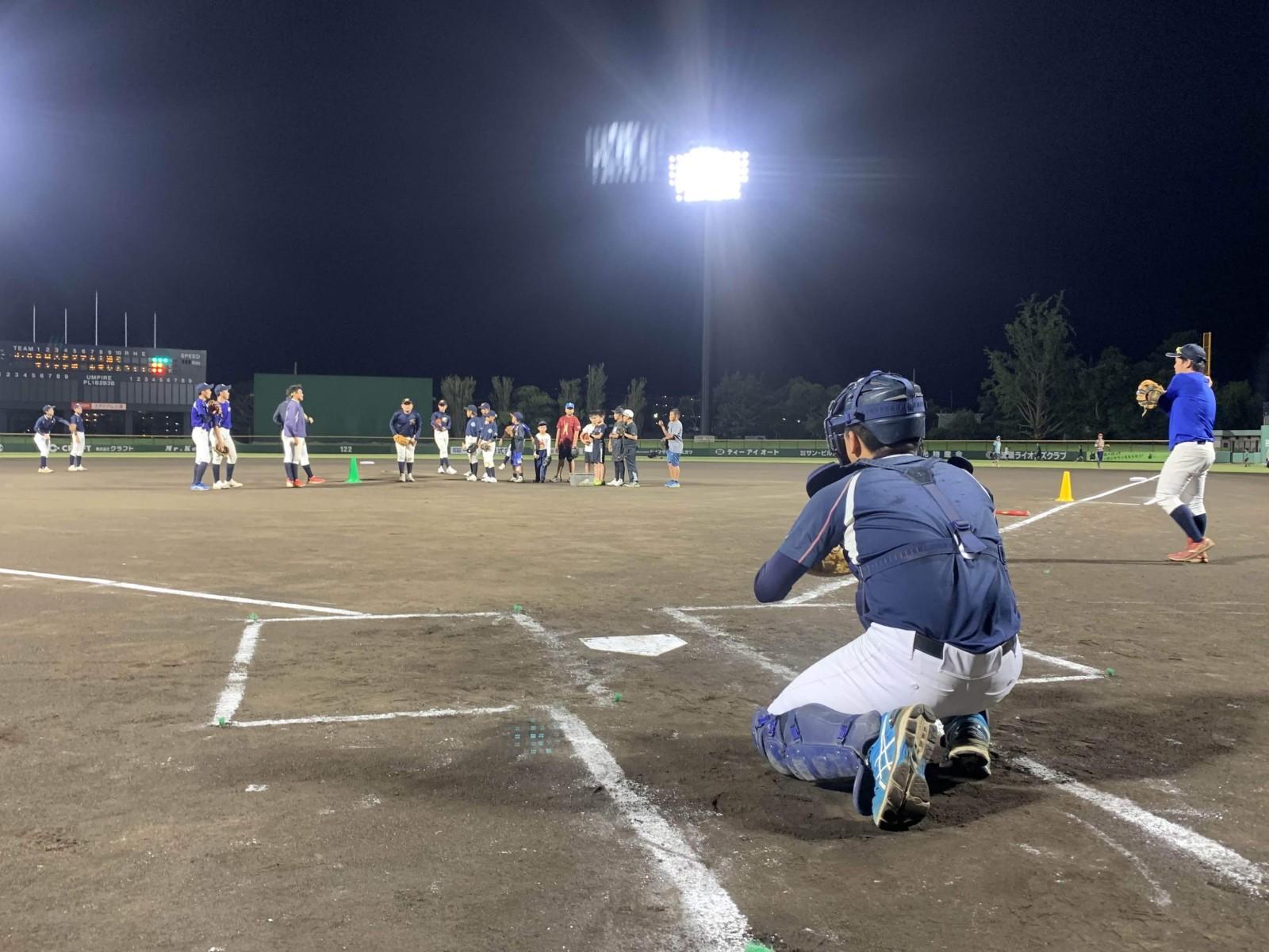 2019.10.10 J:comスタジアム土浦でキャッチボールをしよう! スピードガン計測